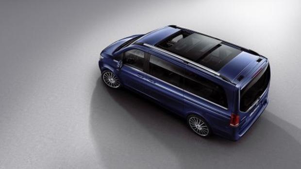 Mercedes Shows Off Van For VIPs