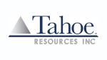 The corporate logo of development stage miner Tahoe Resources Inc. (TSX:THO) is shown. (THE CANADIAN PRESS/HO)