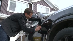 Kosta Keramaris said the quoted price to make his damaged BMW SUV look like new again is $17,000.