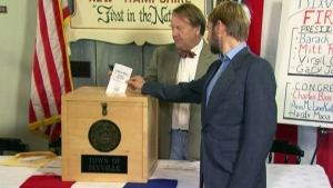 CTV News Channel: Nine voters to vote first