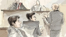 Sketch of testimony at Jian Ghomeshi trial