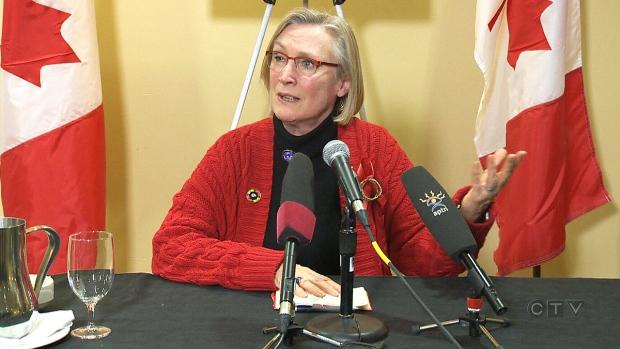 Indigenous Affairs Minister Bennett in Winnipeg
