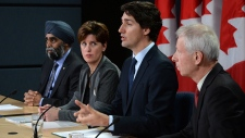 Prime Minister Justin Trudeau on Operation Impact