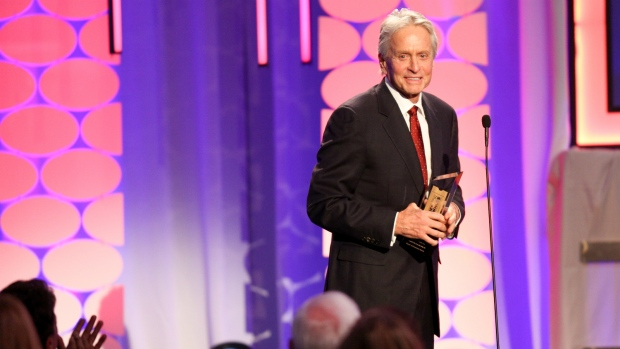 Michael Douglas honoured by AARP
