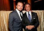 Leonardo DiCaprio, left, and Sylvester Stallone attend the 88th Academy Awards Nominees Luncheon at The Beverly Hilton hotel on Monday, Feb. 8, 2016, in Beverly Hills, Calif. (Photo by Danny Moloshok/Invision/AP)