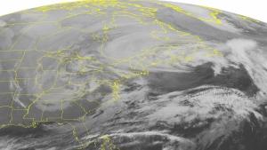 NOAA satellite image taken on Feb. 9, 2016. (Weather Underground via AP)