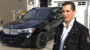 Kosta Keramaris speaks about how a windstorm damaged his car in Edmonton.