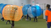 Canada AM: Bubble soccer for the whole family