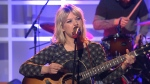 Basia Bulat performs on the AM Soundstage