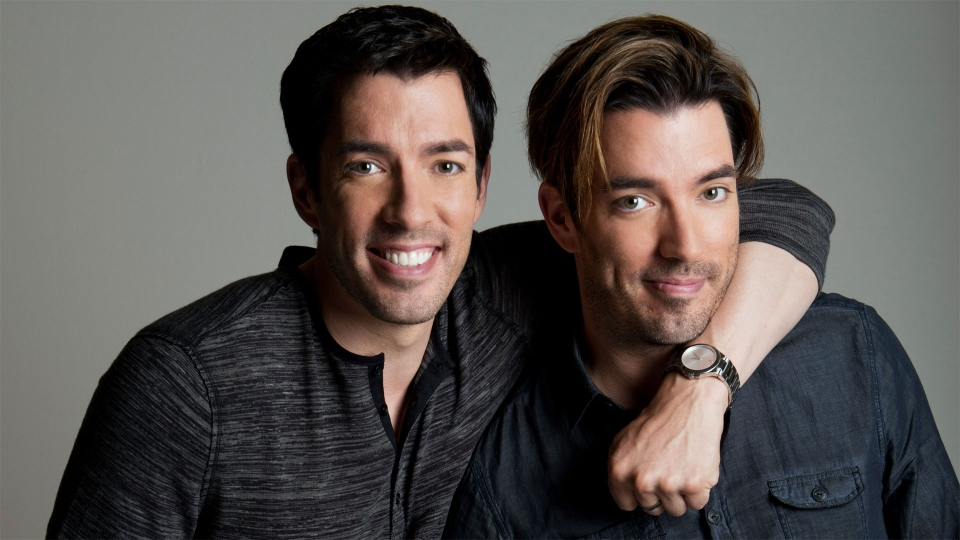 """Jonathan and Drew Scott from the television series """"Property Brothers"""" are pictured in a publicity photo."""