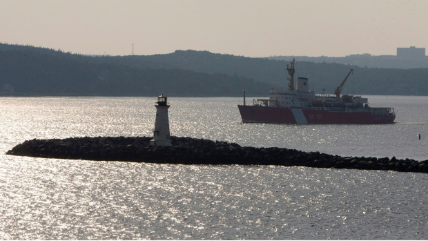 The Canadian Coast Guard in Halifax