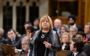Minister of Employment, Workforce Development and Labour MaryAnn Mihychuk responds to a question during question period in the House of Commons on Parliament Hill in Ottawa on Feb. 5, 2016. (Sean Kilpatrick / The Canadian Press)