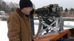 Ice rescue effort on Georgian Bay