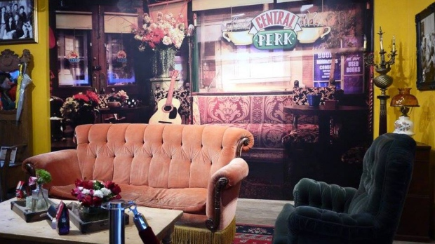 Central Perk replica coffee shop Toronto