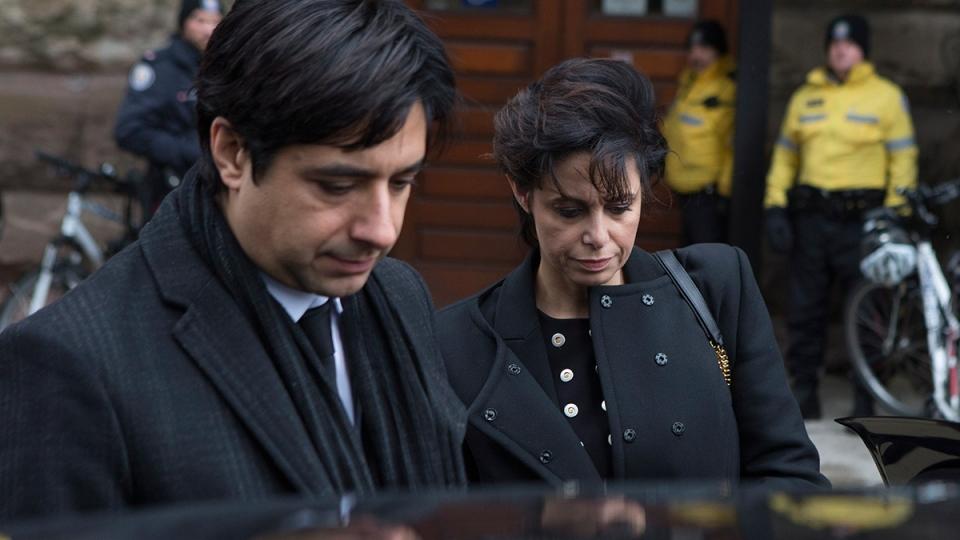 Jian Ghomeshi leaves courthouse in Toronto