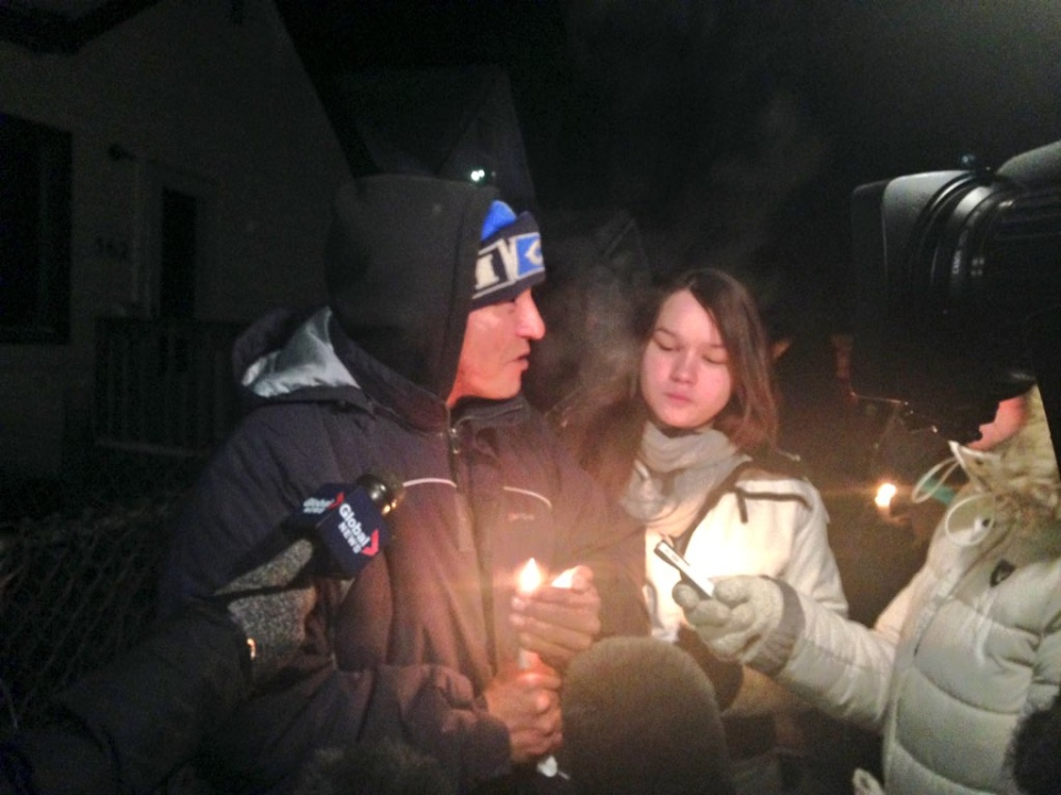 Brother Peter Ducharme wants violence in Winnipeg to stop.