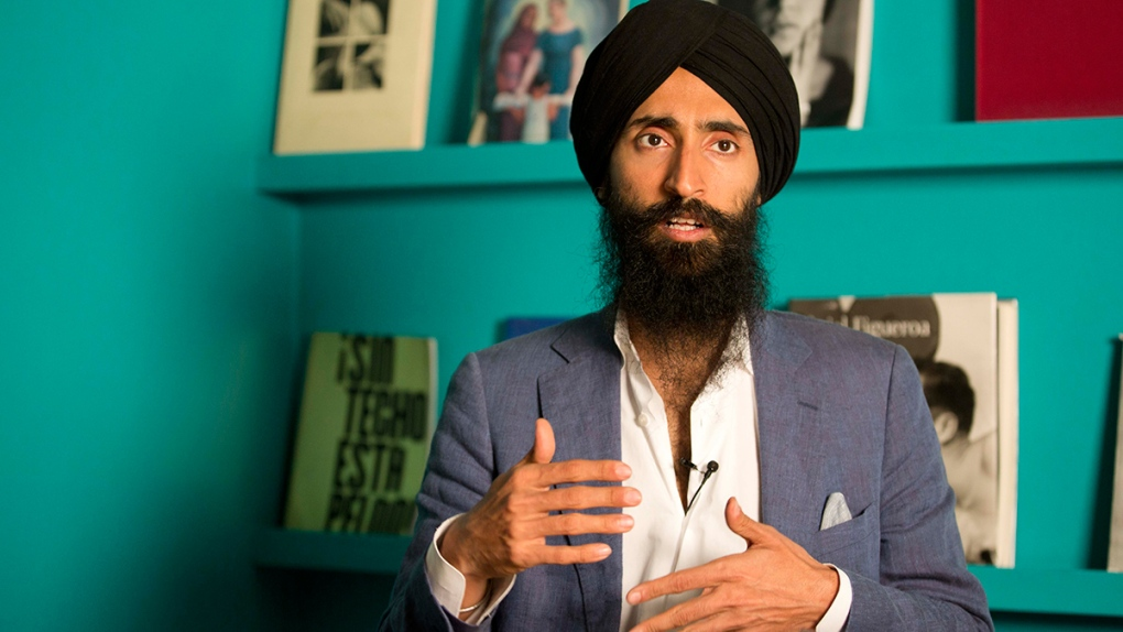 Sikh actor Waris Ahluwalia in Mexico City