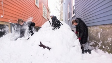 Winter storm hits Halifax