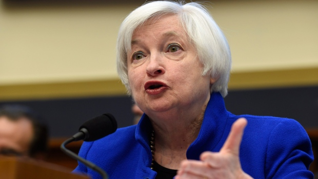 U.S. Federal Reserve Board Chair Janet Yellen