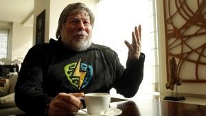 Apple co-founder Steve Wozniak is interviewed in San Francisco, on Wednesday, Feb. 10, 2016. (AP Photo/Jeff Chiu)