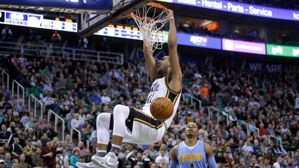 Utah Jazz forward Trey Lyles