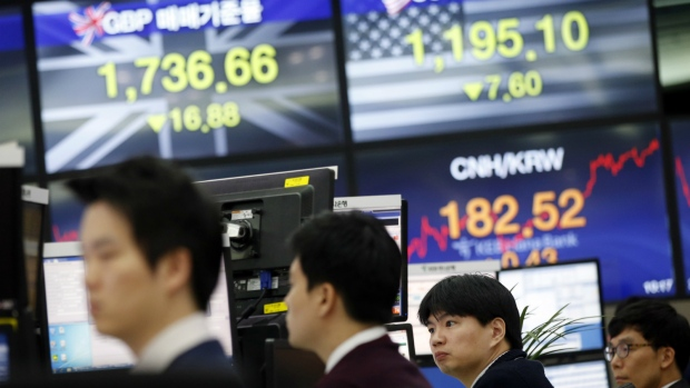 Asian markets drop