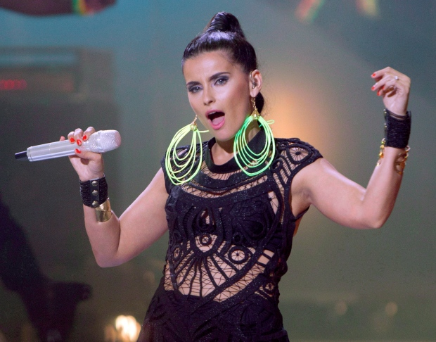 Nelly Furtado performs