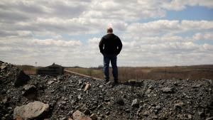 Mining site near the St. Nicholas Coal Breaker in Mahanoy City, Pa., on April 29, 2015. (Matt Slocum / AP)