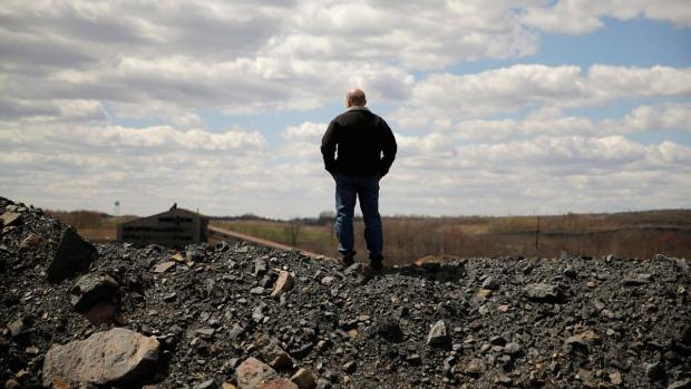 Mining site near the St. Nicholas Coal Breaker, Pa