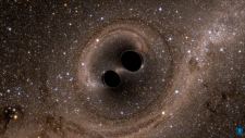 LIGO black hole gravitational waves