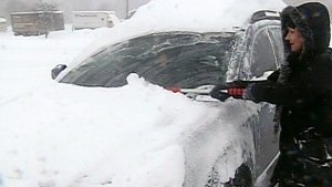 CTV London: Snow squalls hammer Forest City