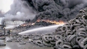 CTV News Archives: Hagersville, Ont. tire fire