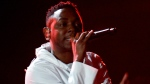 Kendrick Lamar has been nominated for 11 Grammys at this year's ceremony. (AFP PHOTO FREDERIC J. BROWN)