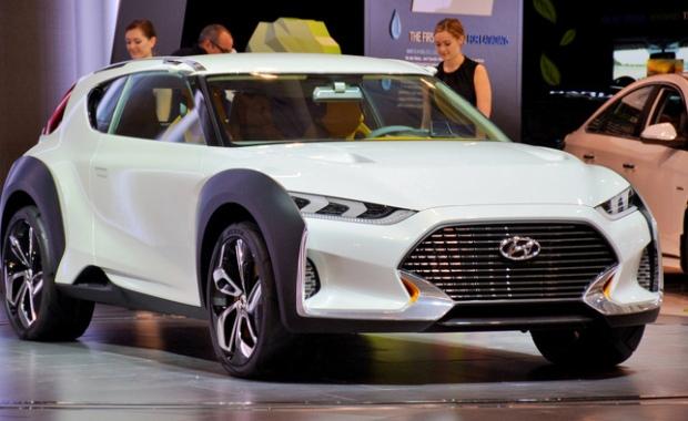Hyundai Enduro Concept looks sharp in Toronto