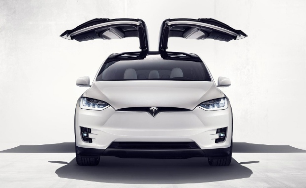 Tesla Model X appears at CIAS 2016