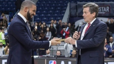 Drake gets key to the city in Toronto
