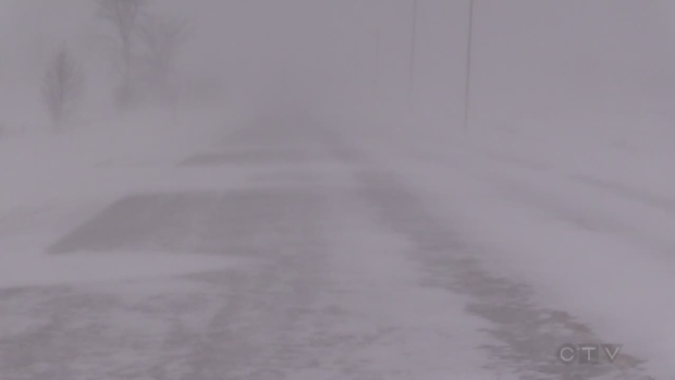 Snow Squall Warning for areas closer to Lake Huron in Middlesex, Lambton