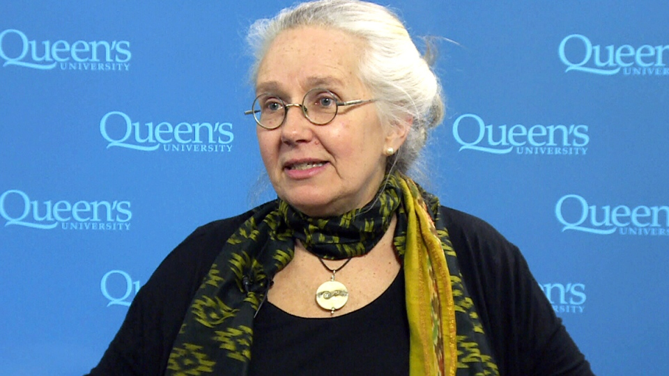 Queen's University medical historian Dr. Jacalyn Duffin speaks to CTV News in Kingston, Ont.