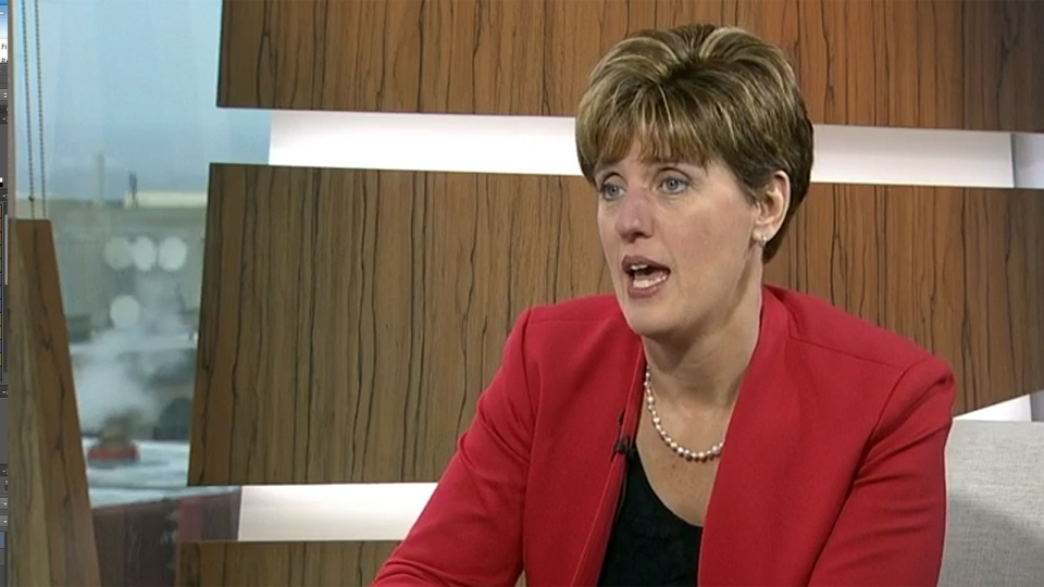 International Development Minister Marie-Claude Bibeau on CTV's Question Period.