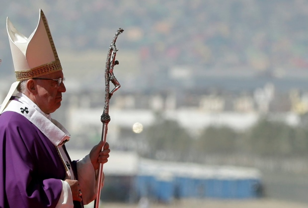 Pope Francis in Ecatepec, Mexico