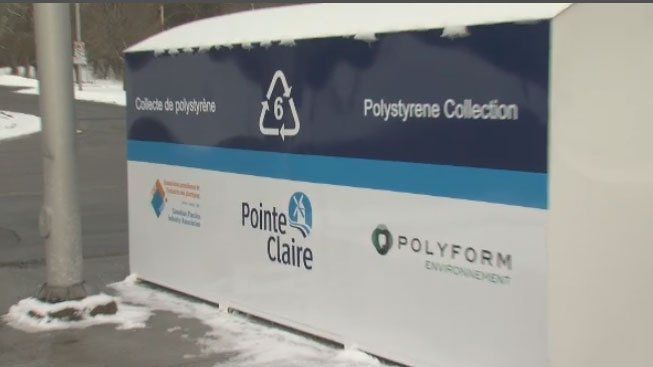 A program to recycle polystyrene plastics in Pointe-Claire has been expanded after a successful pilot project last summer.