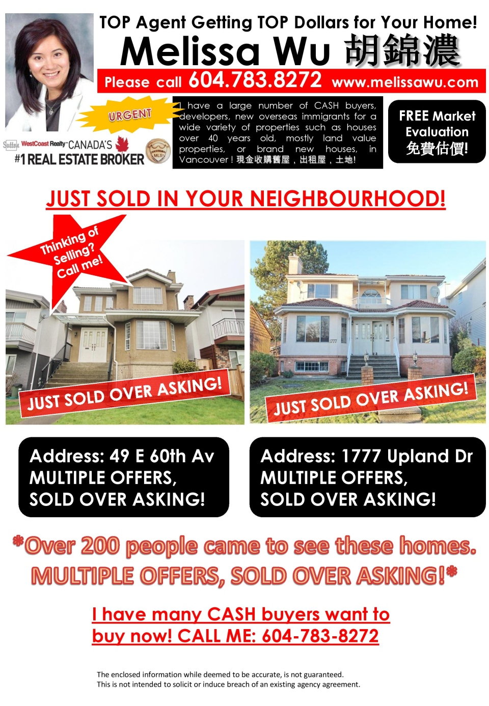 in vancouver real estate the battle is getting the listing flyers