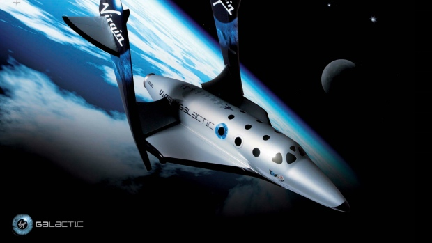 Virgin Galactic's SpaceShipTwo