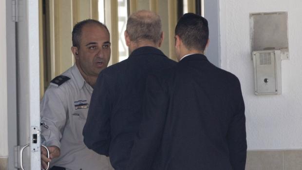 Ehud Olmert begins prison sentence