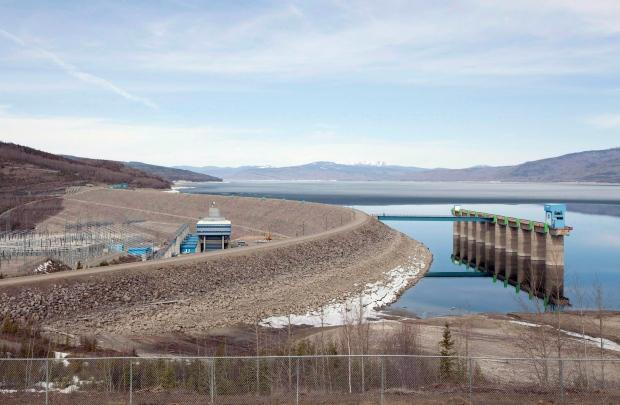 Peace river dam