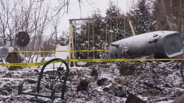 Fire in Dungannon leaves family homeless   CTV News
