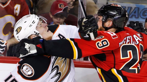 Anaheim Ducks beat Calgary Flames