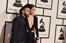 The Weeknd at the Grammy Awards
