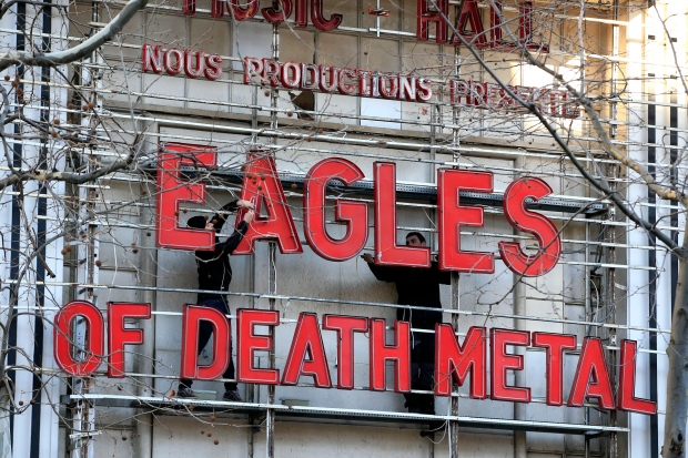 Eagles of Death Metal concert in Paris