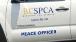 A B.C. SPCA vehicle is seen in this 2015 file photo. (Facebook)